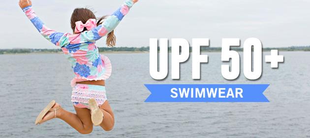 RuffleButts 幼童泳衣 3