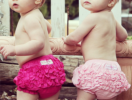RuffleButts 幼童泳衣 4